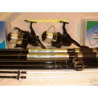 2 X 13Ft Shakespeare Beach Rods and Reels