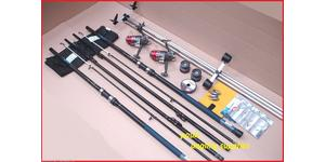 Shakespeare 13ft Sea Fishing Beach Beachcasting Rods Reels Tripo